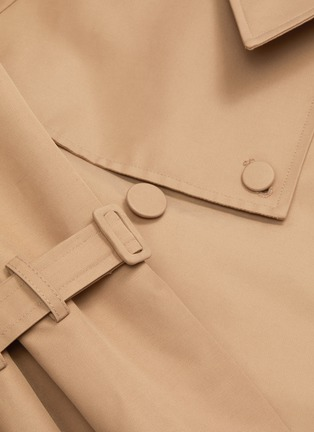 - KIMHĒKIM - Belted double-breasted trench jacket