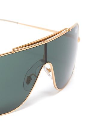 Detail View - Click To Enlarge - RAY-BAN - 'Wings II' metal aviator sunglasses