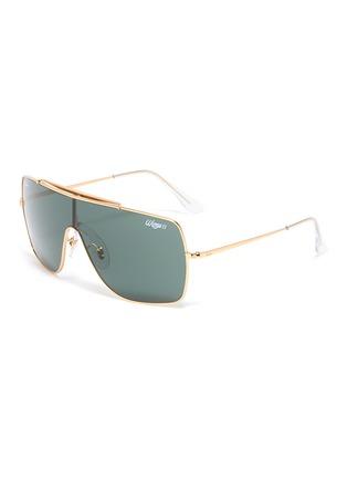 Main View - Click To Enlarge - RAY-BAN - 'Wings II' metal aviator sunglasses