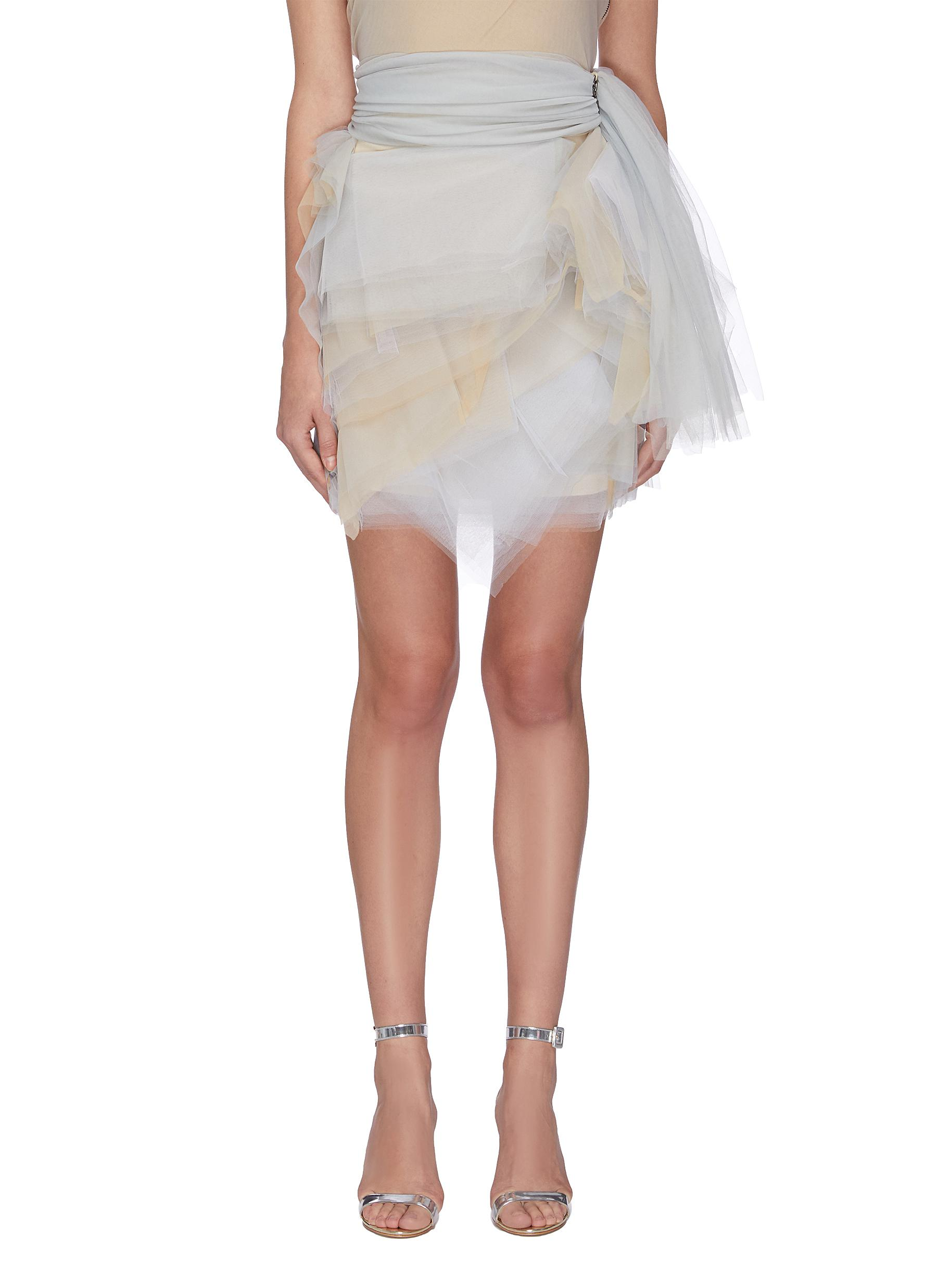 Hellum tulle mini skirt by Maticevski