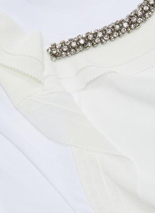 - 3.1 PHILLIP LIM - Ruffle embellished T-shirt