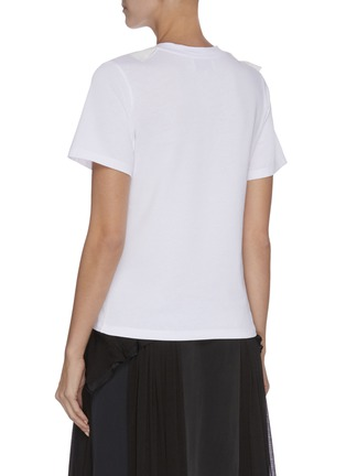 Back View - Click To Enlarge - 3.1 PHILLIP LIM - Ruffle embellished T-shirt