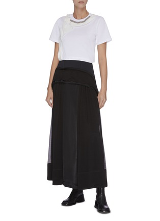 Figure View - Click To Enlarge - 3.1 PHILLIP LIM - Ruffle embellished T-shirt