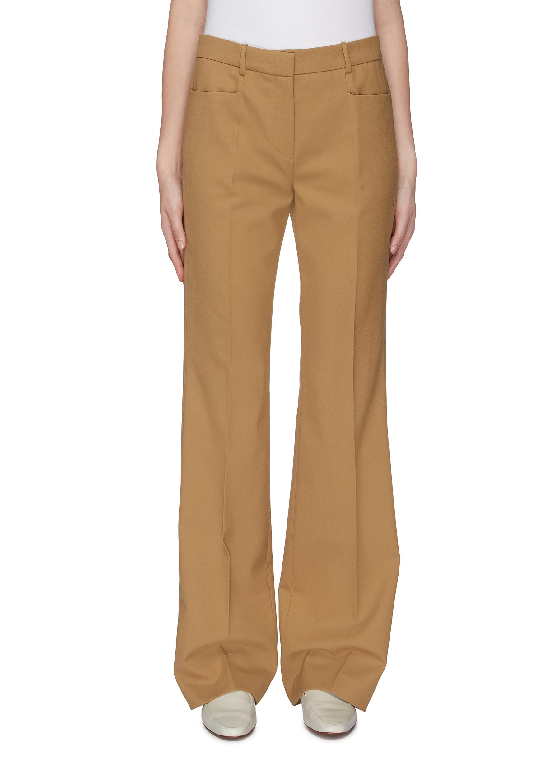 Flared suiting pants by Joseph