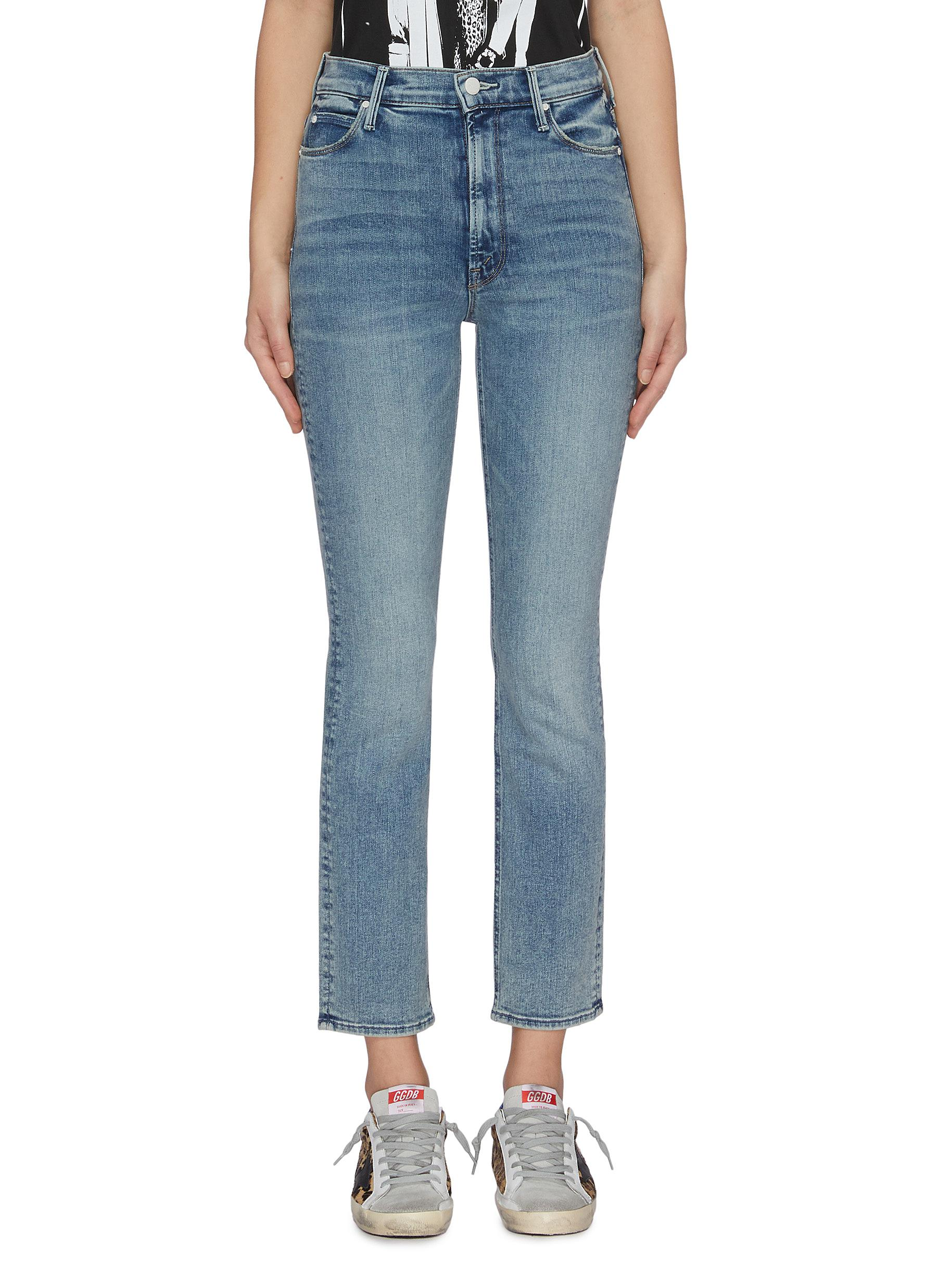 The Dazzler cropped skinny jeans by Mother