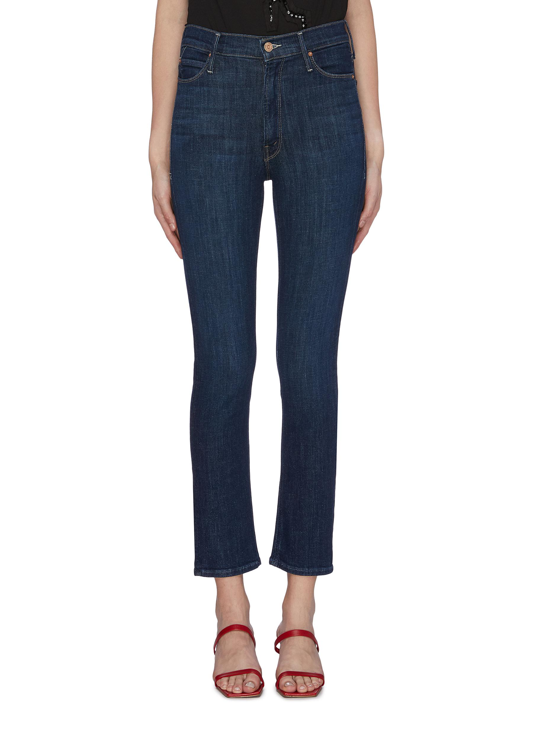 Dazzler straight leg jeans by Mother