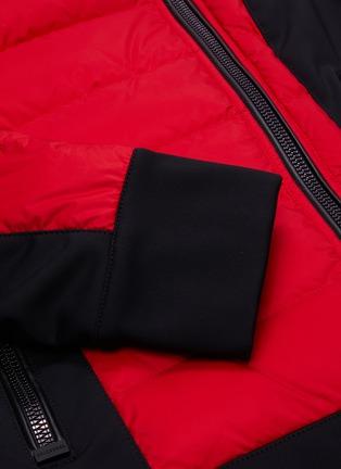 - GOLDBERGH - 'Tinna' wrapped neck colourblock performance down jacket