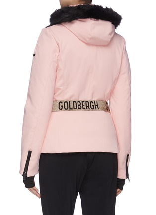 Back View - Click To Enlarge - GOLDBERGH - 'Hida' Belted puff performance down jacket