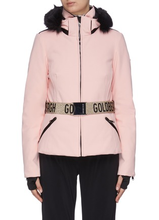 Main View - Click To Enlarge - GOLDBERGH - 'Hida' Belted puff performance down jacket