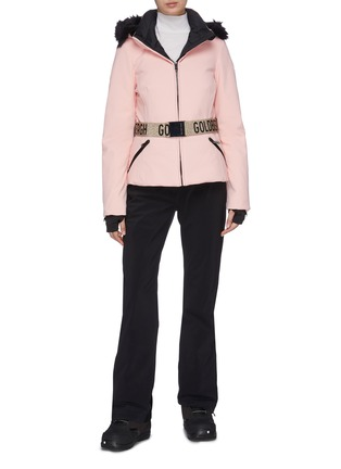 Figure View - Click To Enlarge - GOLDBERGH - 'Hida' Belted puff performance down jacket