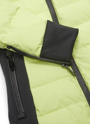 - GOLDBERGH - 'Almeta' zip cuff colourblock hooded down jacket