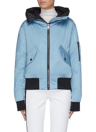Main View - Click To Enlarge - GOLDBERGH - 'Gilsa' hooded performance down jacket