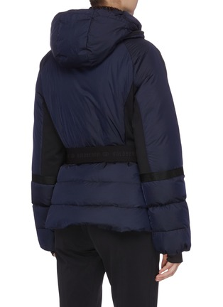 Detail View - Click To Enlarge - GOLDBERGH - Belted puff performance down jacket