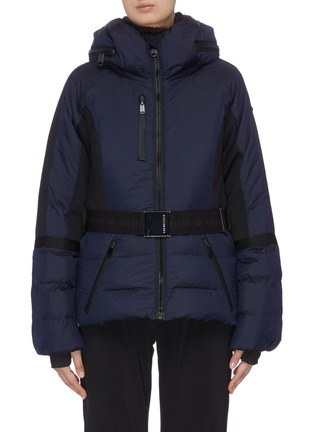 Main View - Click To Enlarge - GOLDBERGH - Belted puff performance down jacket