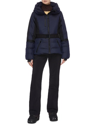 Figure View - Click To Enlarge - GOLDBERGH - Belted puff performance down jacket
