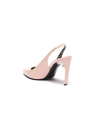 - NICHOLAS KIRKWOOD - 'Mia' faux pearl patent leather slingback pumps