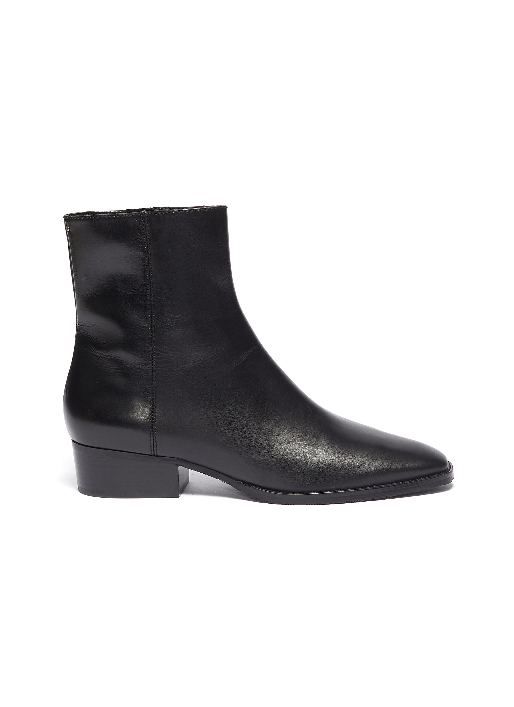 Lenny leather ankle boots by Stella Luna