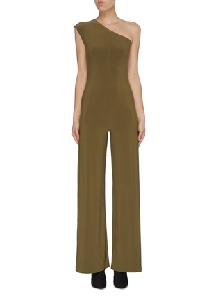 Main View - Click To Enlarge - NORMA KAMALI - One shoulder jumpsuit