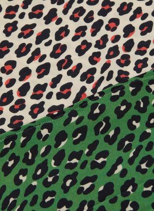 - HELEN LEE - Mixed motif print skirt