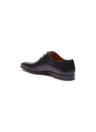 - MAGNANNI - Stitched leather Oxfords