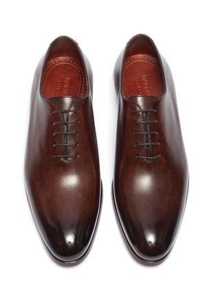 Detail View - Click To Enlarge - MAGNANNI - Leather Oxfords