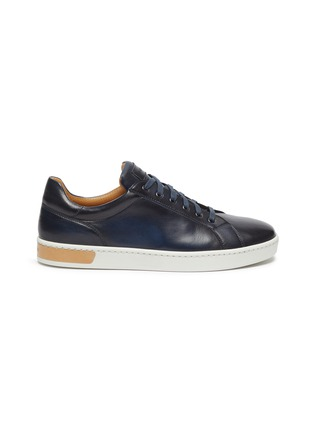 Main View - Click To Enlarge - MAGNANNI - Leather sneakers