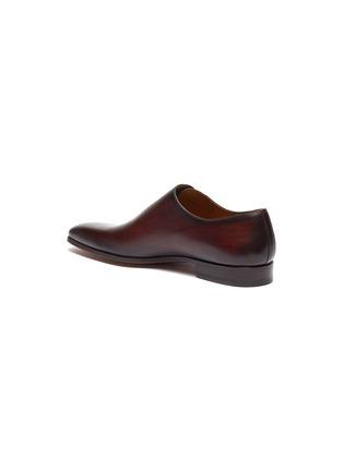 - MAGNANNI - Slant lace-up leather Oxfords