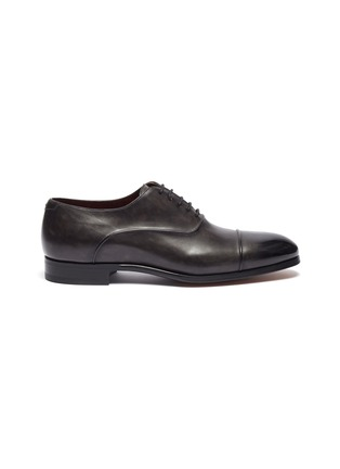 Main View - Click To Enlarge - MAGNANNI - Panelled leather Oxfords