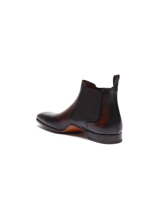 - MAGNANNI - Stitched leather Chelsea boots
