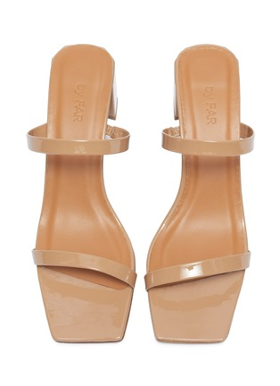 Detail View - Click To Enlarge - BY FAR - 'Tanya' patent leather sandals