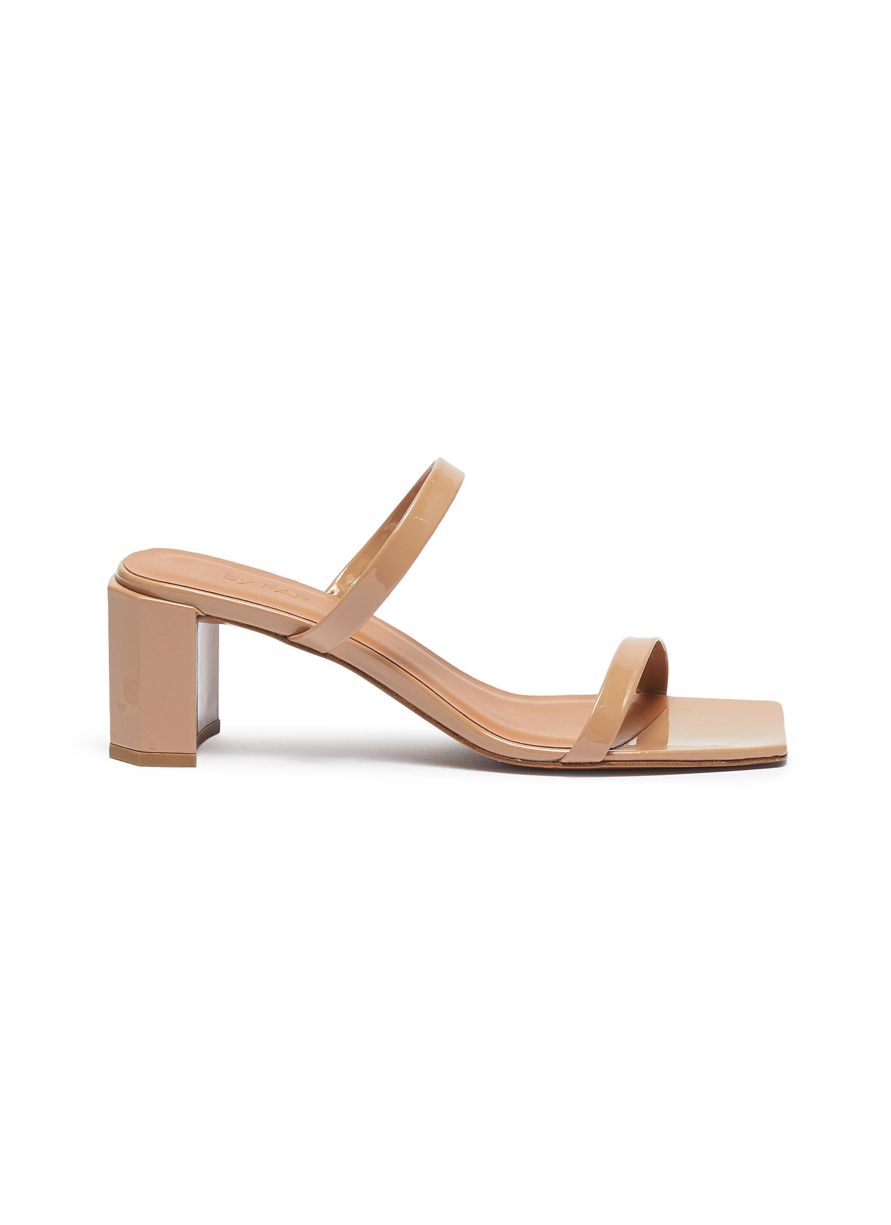 Tanya patent leather sandals by By Far