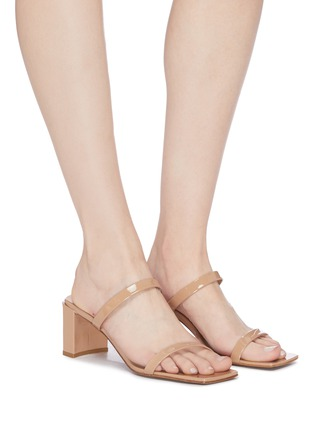 Figure View - Click To Enlarge - BY FAR - 'Tanya' patent leather sandals