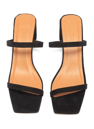 Detail View - Click To Enlarge - BY FAR - 'Tanya' suede sandals