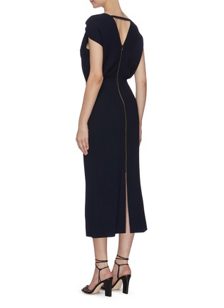 Back View - Click To Enlarge - ROLAND MOURET - 'Eclipse' sheath dress
