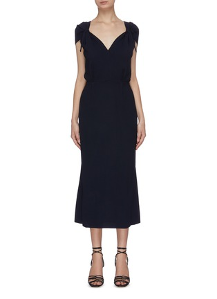 Main View - Click To Enlarge - ROLAND MOURET - 'Eclipse' sheath dress