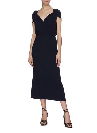 Figure View - Click To Enlarge - ROLAND MOURET - 'Eclipse' sheath dress