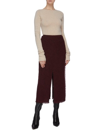 Figure View - Click To Enlarge - ROLAND MOURET - 'Booth' skirt