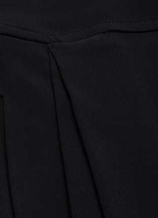 - ROLAND MOURET - 'Lenark' wide leg wool-crepe pants