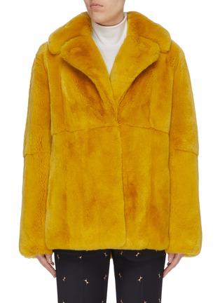 Main View - Click To Enlarge - YVES SALOMON - Rabbit fur jacket