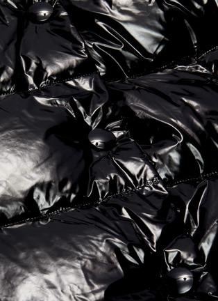 - YVES SALOMON - Hooded puffer jacket
