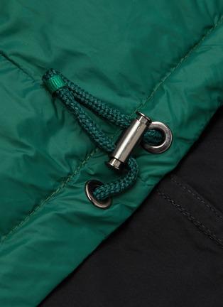 - ARMY BY YVES SALOMON - Reversible metallic panel jacket