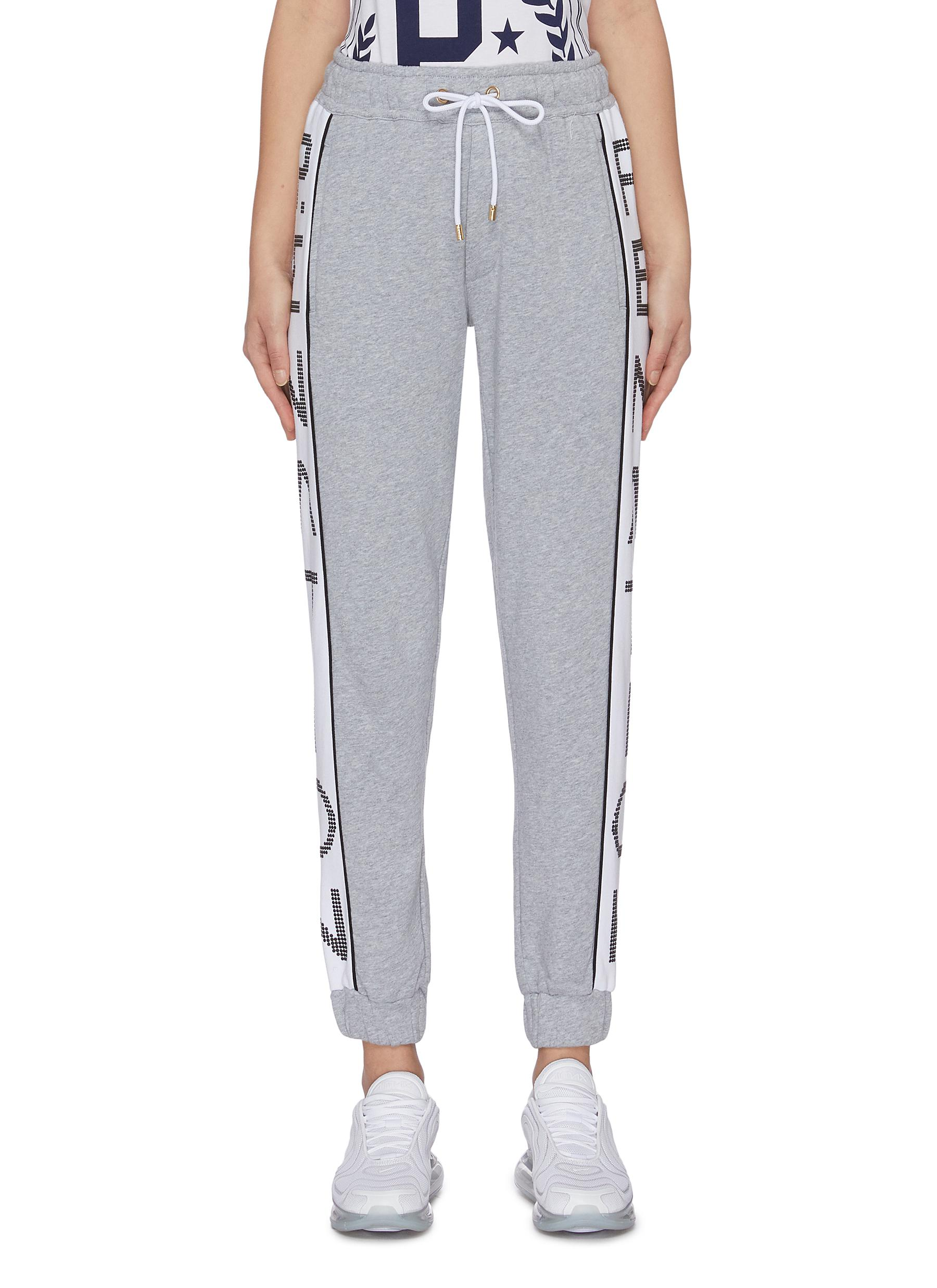 Easy Run logo outseam sweatpants by P.E Nation