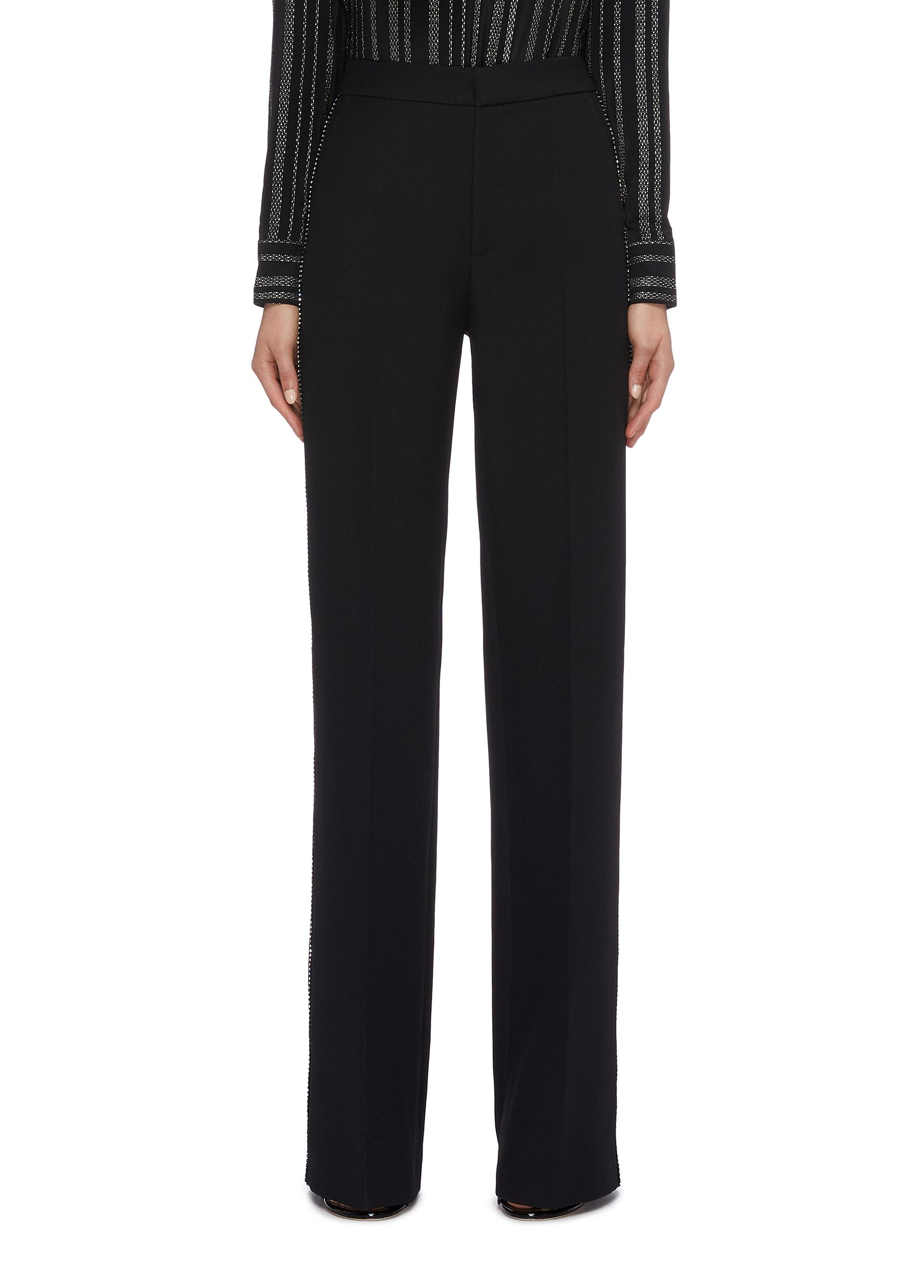 Strass outseam suiting pants by Philosophy Di Lorenzo Serafini