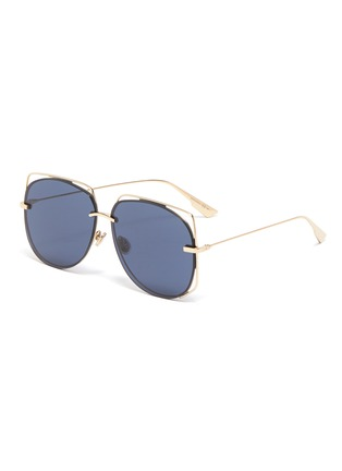 Main View - Click To Enlarge - DIOR - 'Dior Stellaire 6' cutout metal geometric frame sunglasses