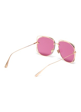 Figure View - Click To Enlarge - DIOR - 'Dior Stellaire 6' cutout metal geometric frame sunglasses