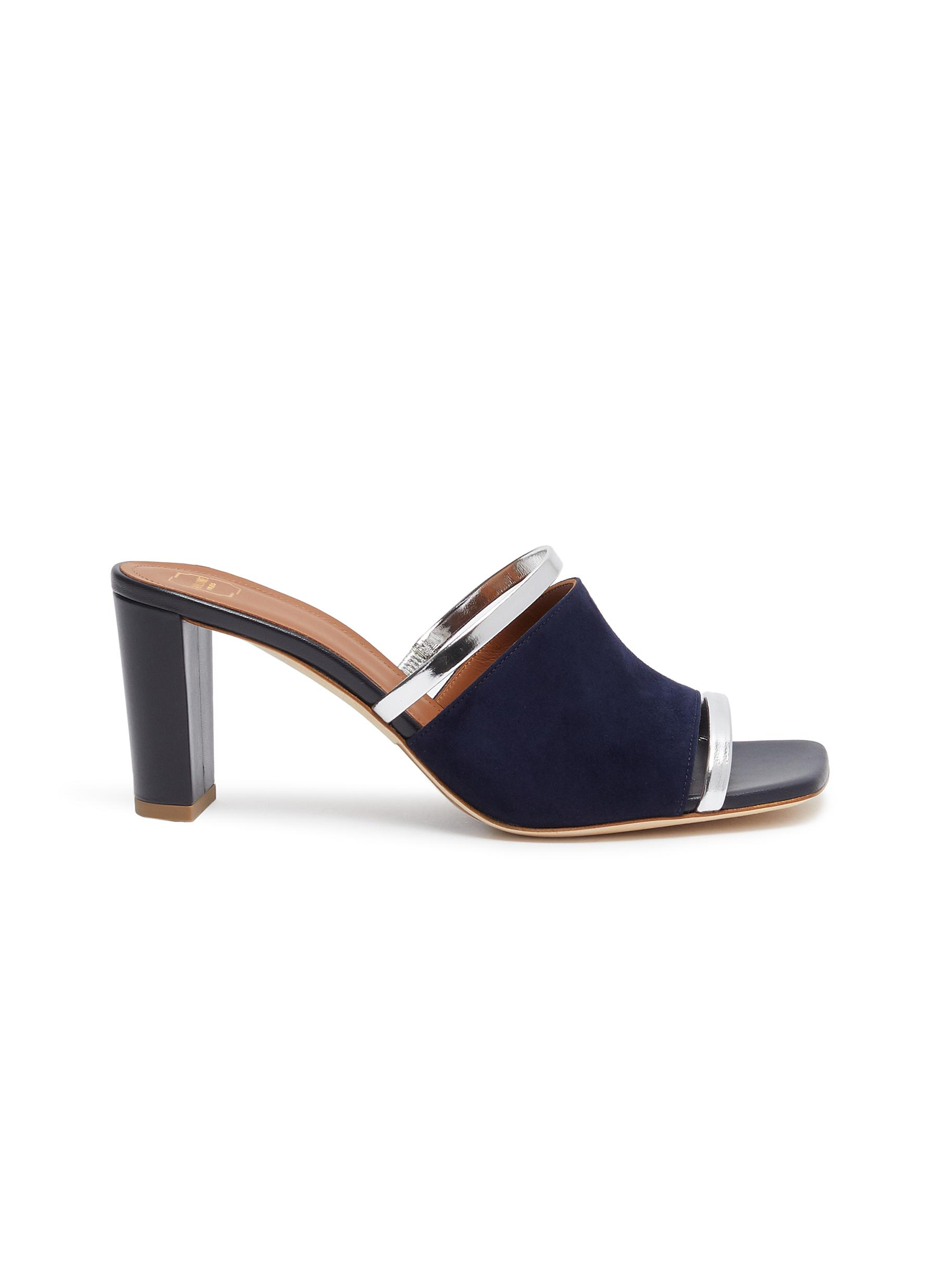 Demi strappy suede sandals by Malone Souliers