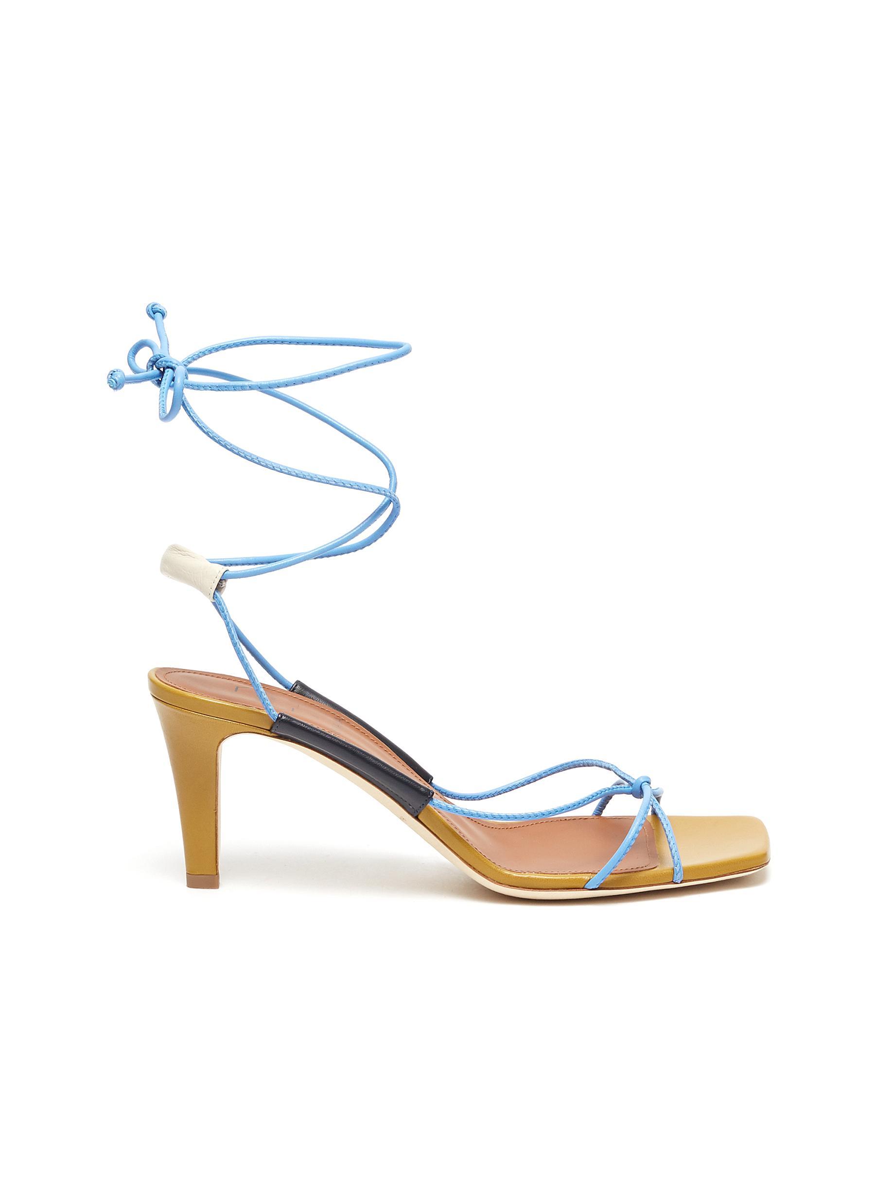 x Roksanda Camila wrap around tie strappy leather sandals by Malone Souliers