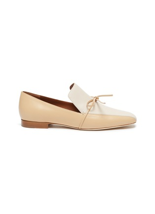 Main View - Click To Enlarge - MALONE SOULIERS - x Roksanda 'Celia' bow tie colourblock leather loafers