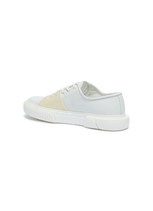 - BOTH - 'Pre-Tec' rubber panel leather sneakers