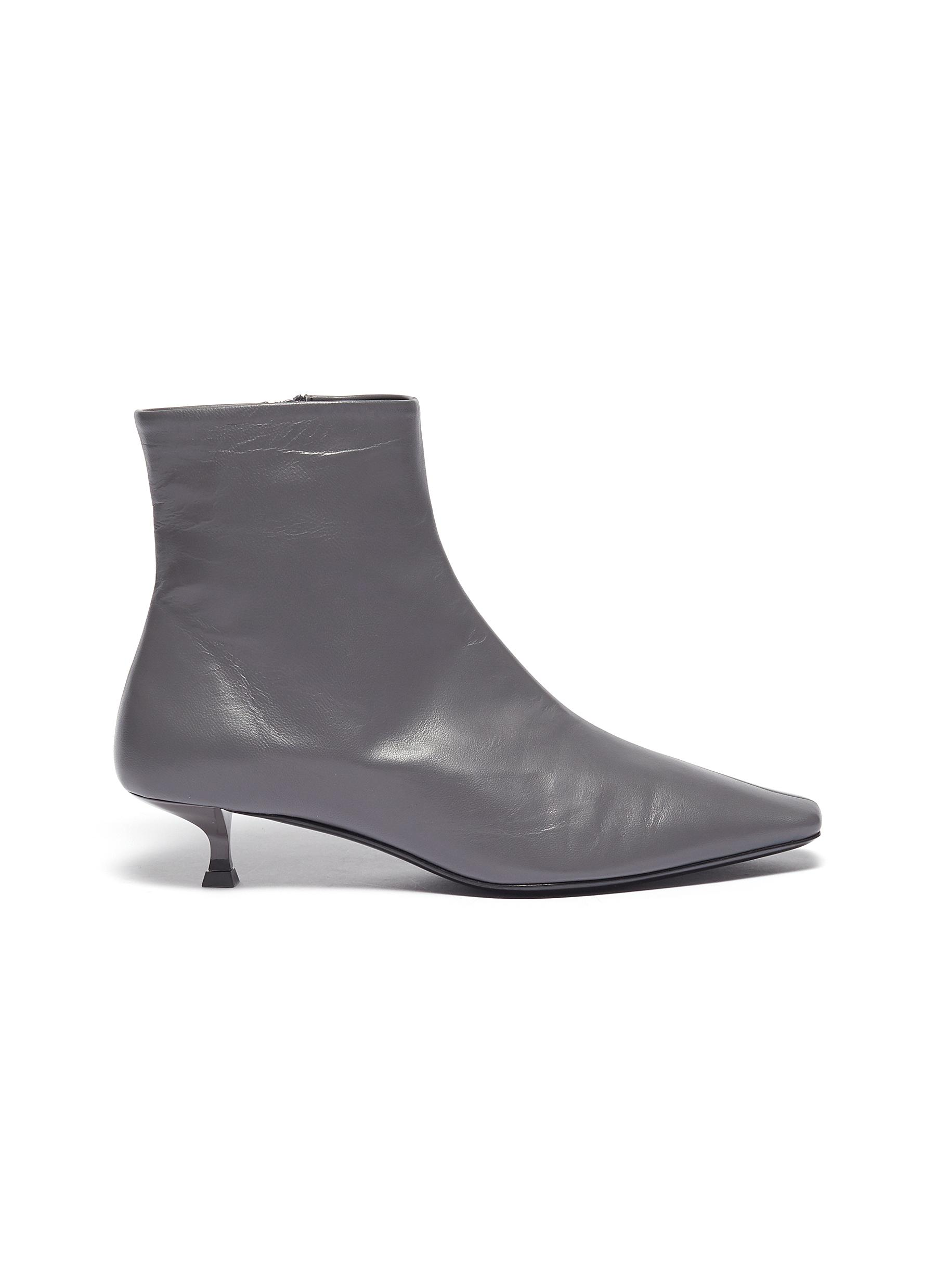 Laura leather ankle boots by By Far